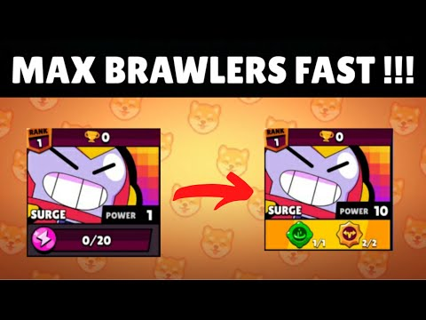 MAX BRAWLERS FAST WITH THIS TRICK !!! | Brawl Stars.