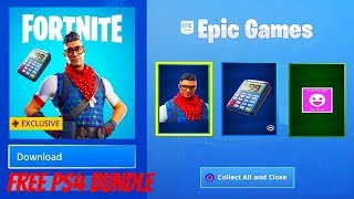 FORTNITE SEASON 7 (NEW FREE PS4 BUNDLE - Prodigy Skin)