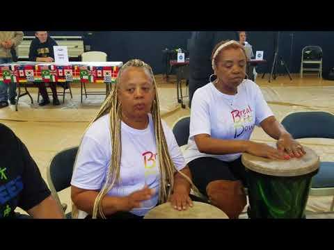 Break It Down Soul Line Dance Drum at the Cal Maritime Unity Council