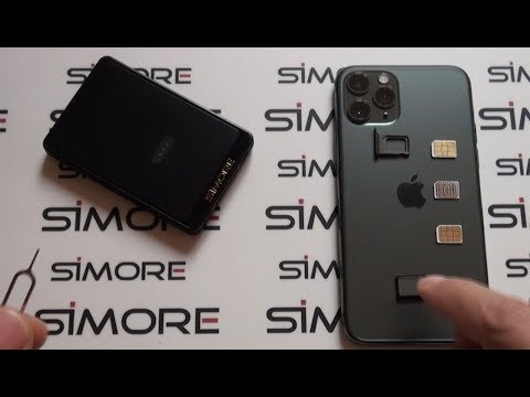 IPhone 11 Pro DUAL SIM Active Bluetooth Adapter To Have 3 SIM Cards On 1 IPhone 11 Pro