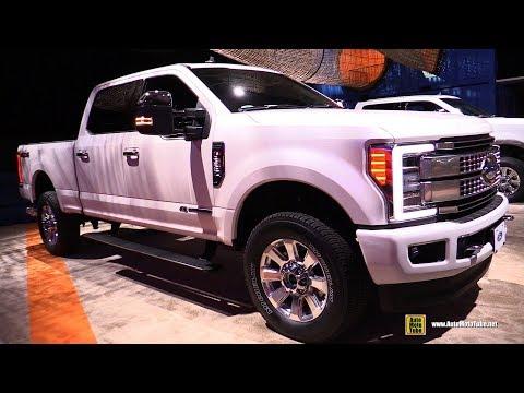 Ford F Platinum - Exterior and Interior Walkaround - Detroit Auto Show