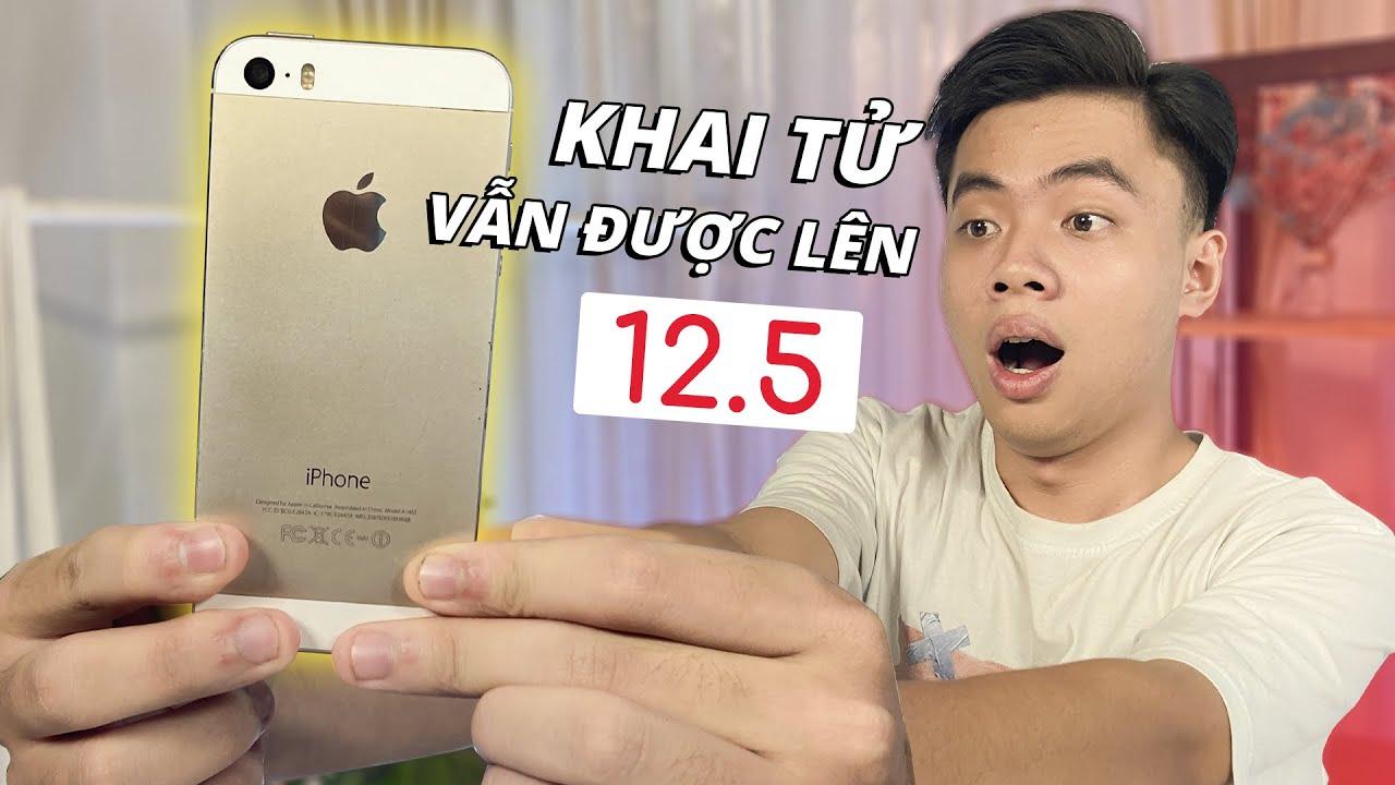 Trải nghiệm iOS 12.5 cho iPhone 5s: Sau 7 năm vẫn rất ổn   Điện Thoại Vui TV