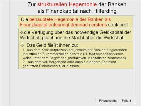 V_8 Kritik des Finanzkapitals Teil 1 / 2