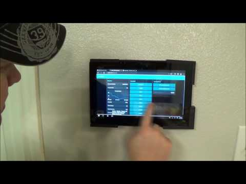Home Automation User Interface with Windows, Asus, and Node-Red