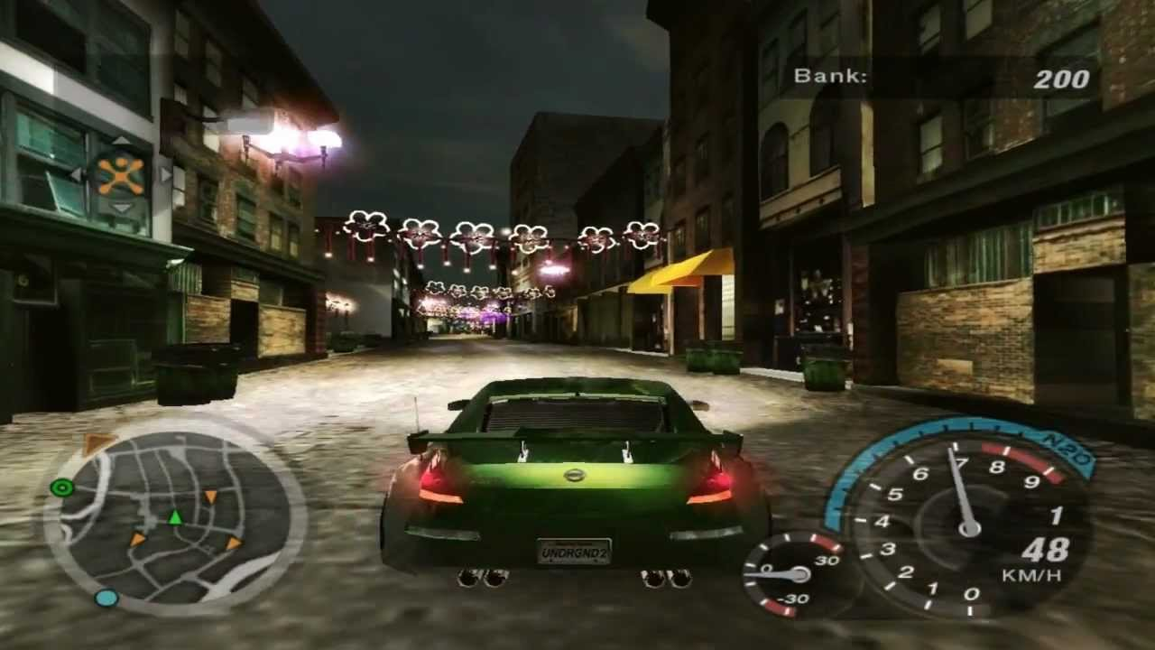 need for speed underground 2 hidden race 2 circuit. Black Bedroom Furniture Sets. Home Design Ideas