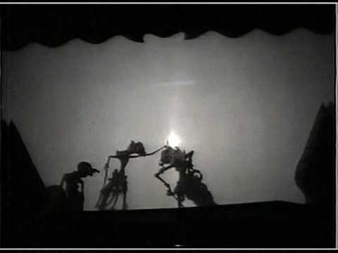 Javanese Shadow Puppet  - Wayang Kulit