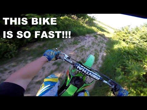 KX 125 Top Speed!!! & Some Trail Riding - Kx 125 Moto Vlog #37