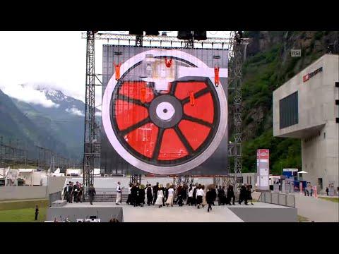 San Gottardo tunnel opening ceremony - South (Pollegio)