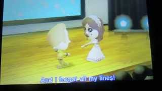 TomoDachi Life Opera Duet performance gone wrong