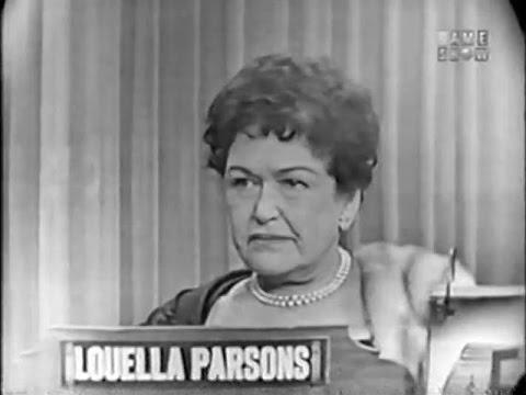 What's My Line? - Louella Parsons (Nov 15, 1953)