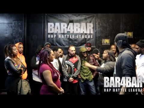 BAR4BAR RAP BATTLE LEAGUE PRESENTS - AUSET AND AUSAR VS ATG BARKODE