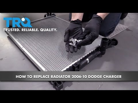 How to Replace Radiator 2006-10 Dodge Charger