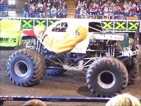 Monster X Tour 2015 At Jackson County Expo in Central Point, Oregon
