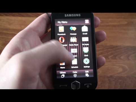 Samsung I8000 Omnia2 mp3 menu