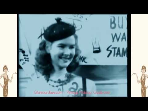 1940s Teen Age Fashions - Archive film 1943