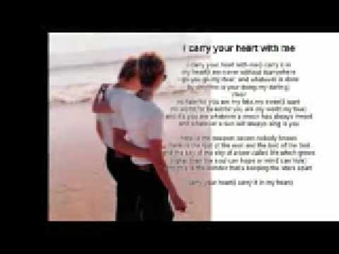 I Carry Your Heart With Me A Poem By Ee Cummings