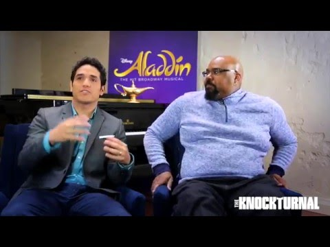 Adam Jacobs, Courtney Reed, James Monroe Iglehart Talk 'Aladdin' On Broadway