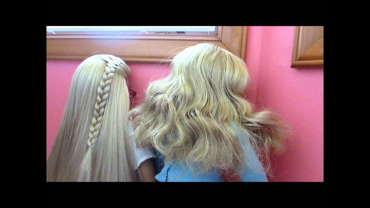 Ag Hair Styles: Preventing Frizzy Doll Hair!