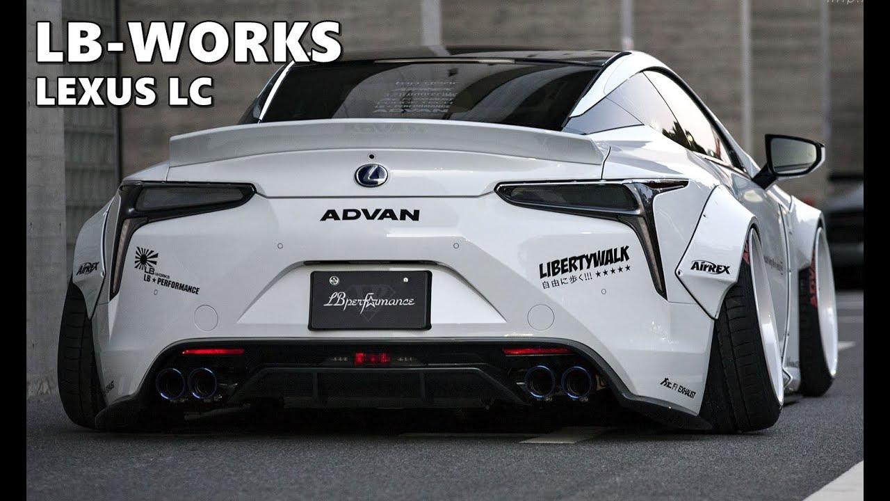Liberty Walk Lexus LC x Artisan Spirits - YouTube