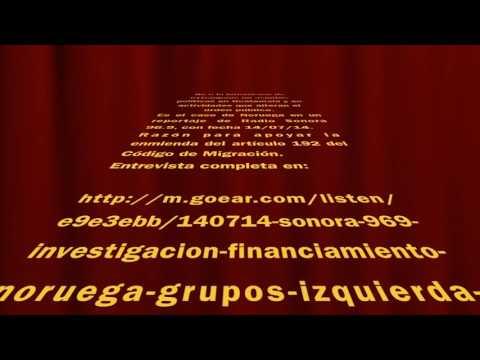 No a la intromisión extranjera. Entrevista de Radio Sonora del 14 de julio 2014.   96.9 f.m.