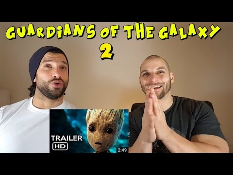 Guardians of The Galaxy vol. 2 Trailer 2 (2017) REACTION!