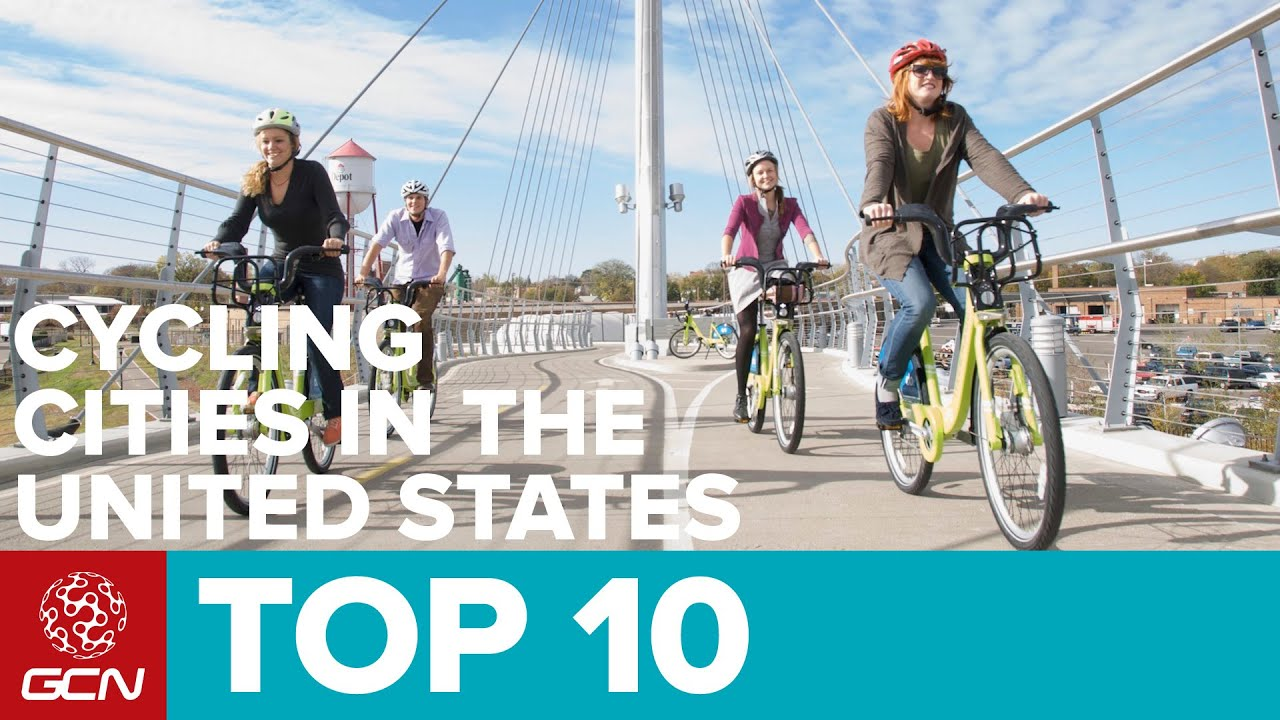 Taking Madion B Cycle For Free Trial >> Top 10 Cycling Cities In The United States Youtube