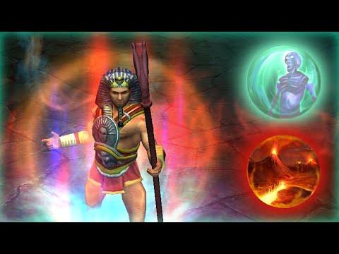 Titan Quest _ Infernal Ternion _ Full Strength Ternion Attack Conjurer Build |