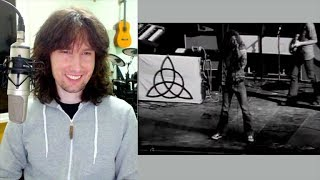British guitarist reacts to a RARELY SEEN Led Zeppelin performance!