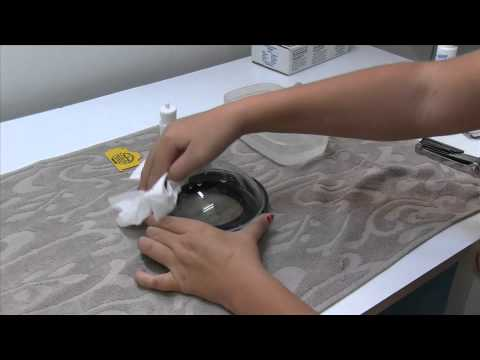 How to remove scratches from a plastic dome - restore underwater housing