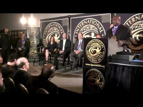 The International Sports Hall of Fame (ISHoF) 2016 Induction Ceremony