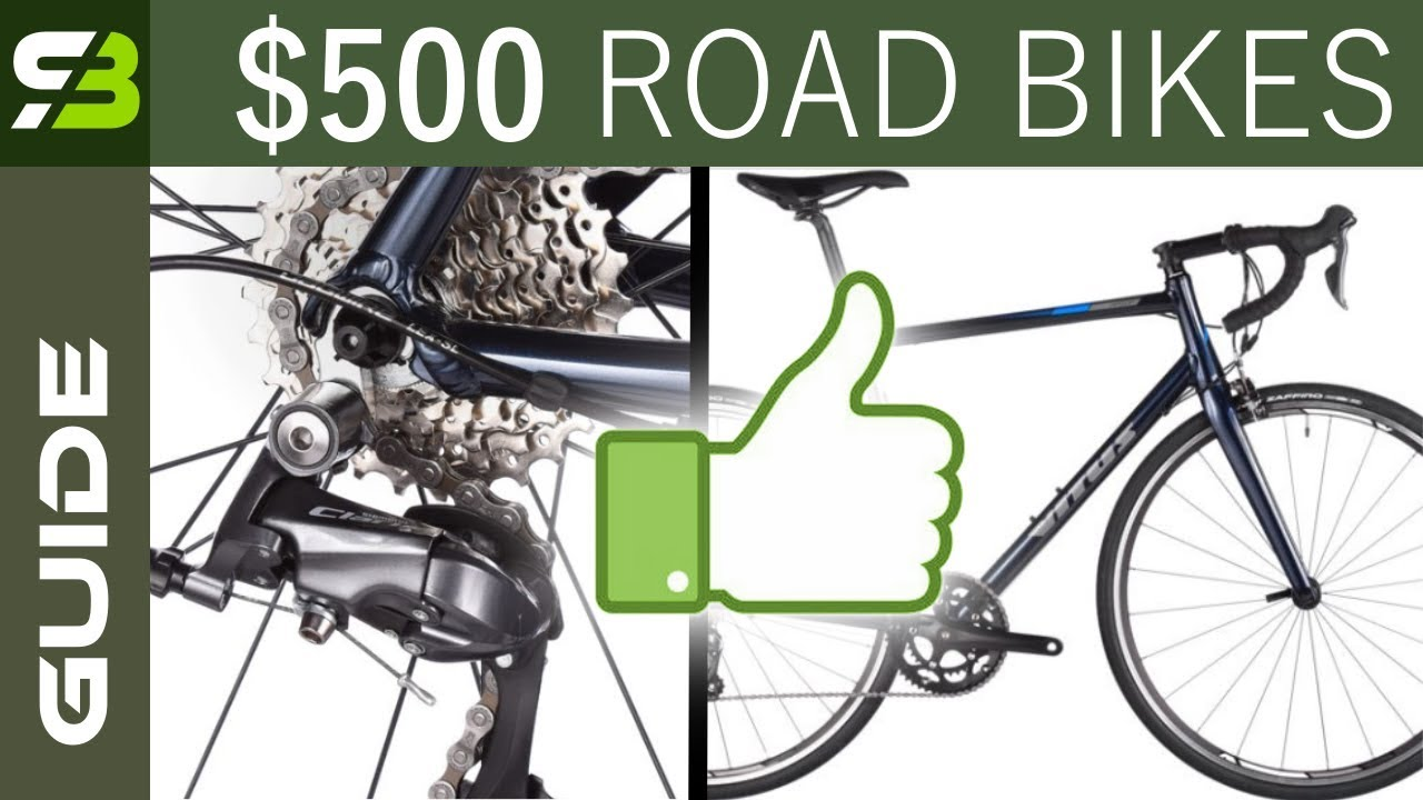 Top 3 Alloy Entry Level Road Bikes, Up To $500  + 3 Upgrade Ideas