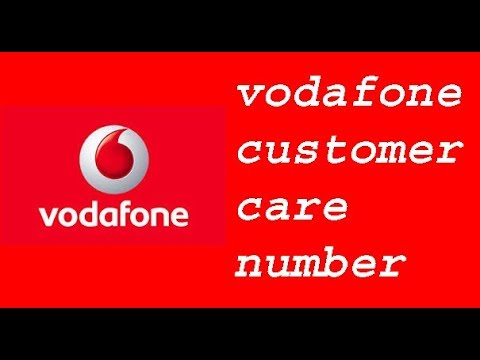free phone vodafone customer service number