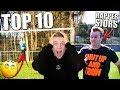 TOP 10 GRAPPIGSTE VOETBAL MOMENTEN! MET RAPPER  SJORS!!