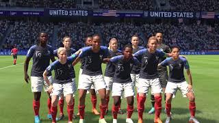 [4K HDR] Fifa 19 The Journey Ep.29 USA vs France Women