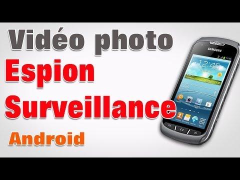 Vidéo surveillance avec portable tablette android avec wifi.