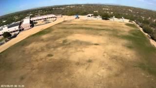 Home built Naza Lite quadcopter - third FPV flight