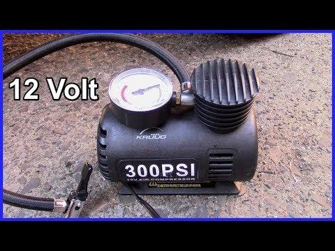 12 Volt 300 PSI Air Compressor - Tyre Pump