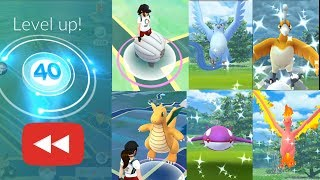 Level 40 2018 Rewind, A Mystic Trainer Story in Pokemon Go