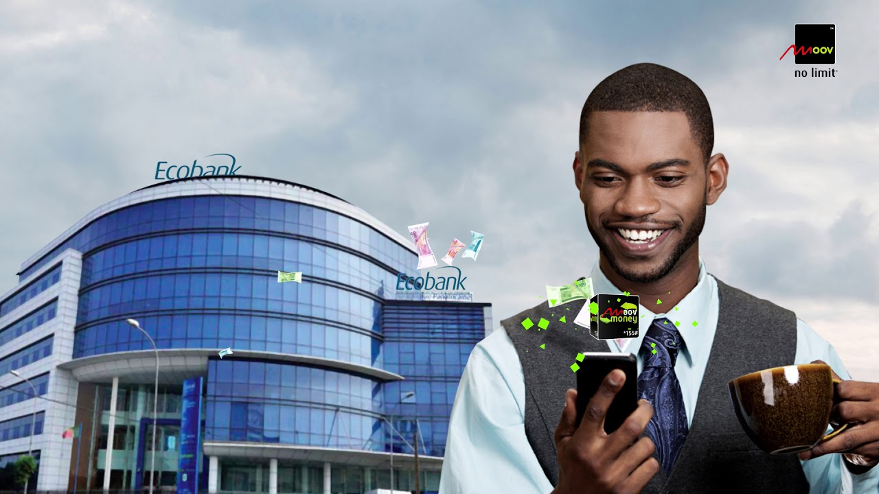 Moov Money s'associe à Ecobank Bénin pour faciliter les transactions financières.
