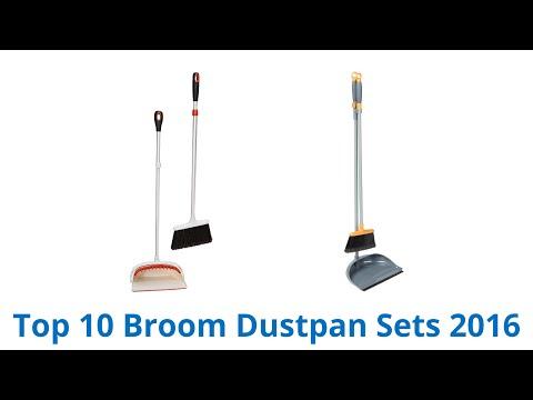10 Best Broom Dustpan Sets 2016