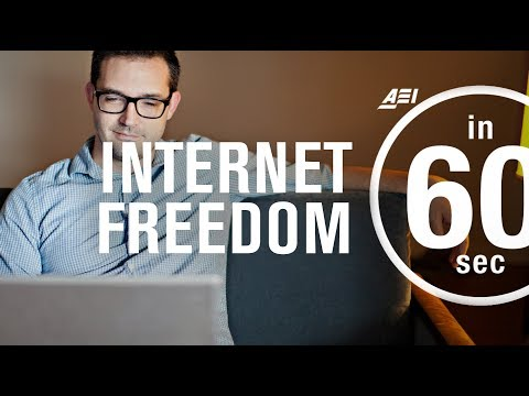 Restoring Internet Freedom vs the digital elite | IN 60 SECONDS