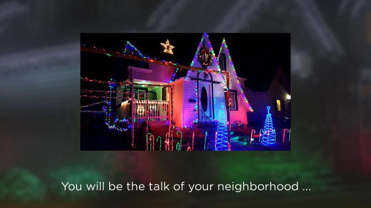 Best solar christmas lights youtube