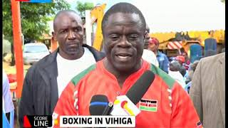 Vihiga boxing association organizes boxing extravaganza to nature talents in the area