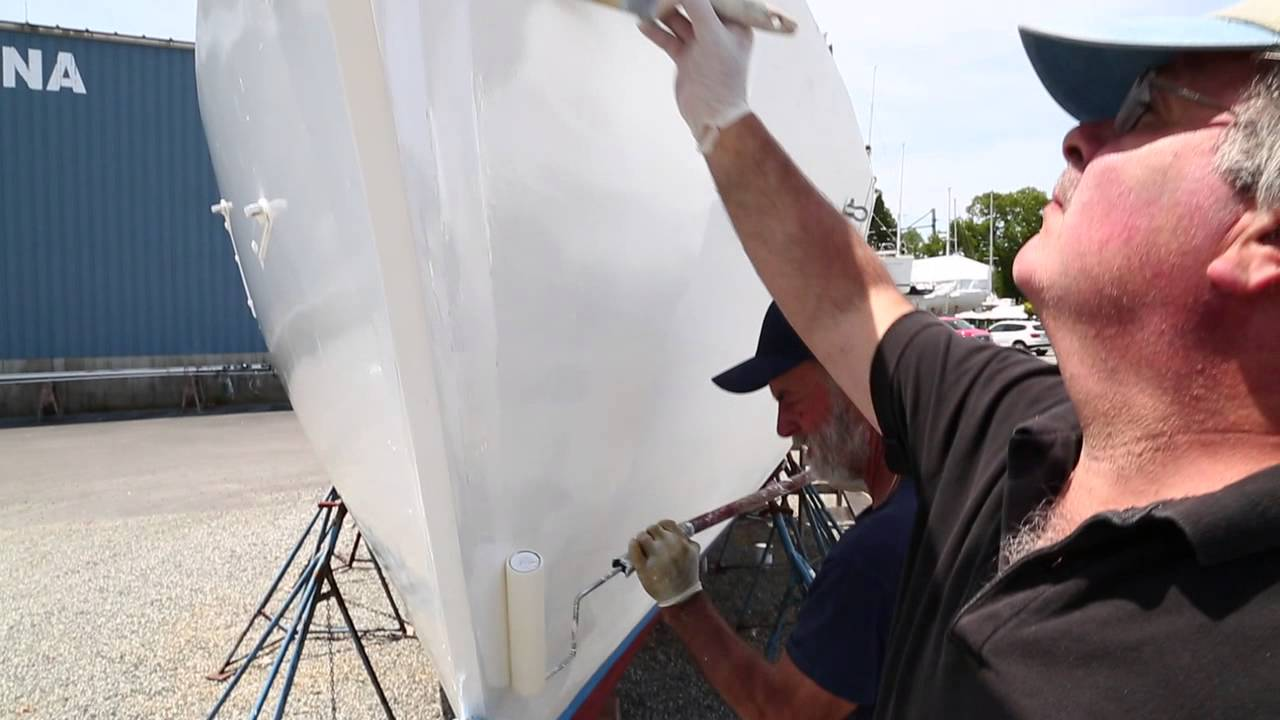 Painting Your Wooden Boat