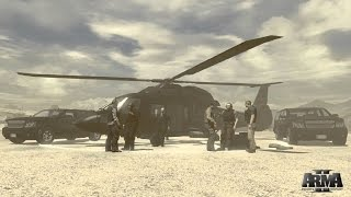 "ArmA 2 Private Military Company DLC | ""Operation Black Gauntlet"" All Cutscene and event"