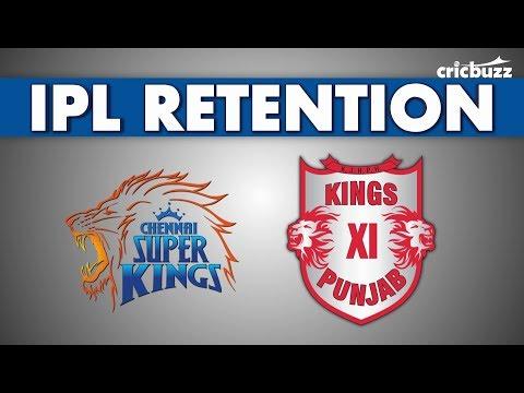 IPL Retention: CSK & KXIP predictions