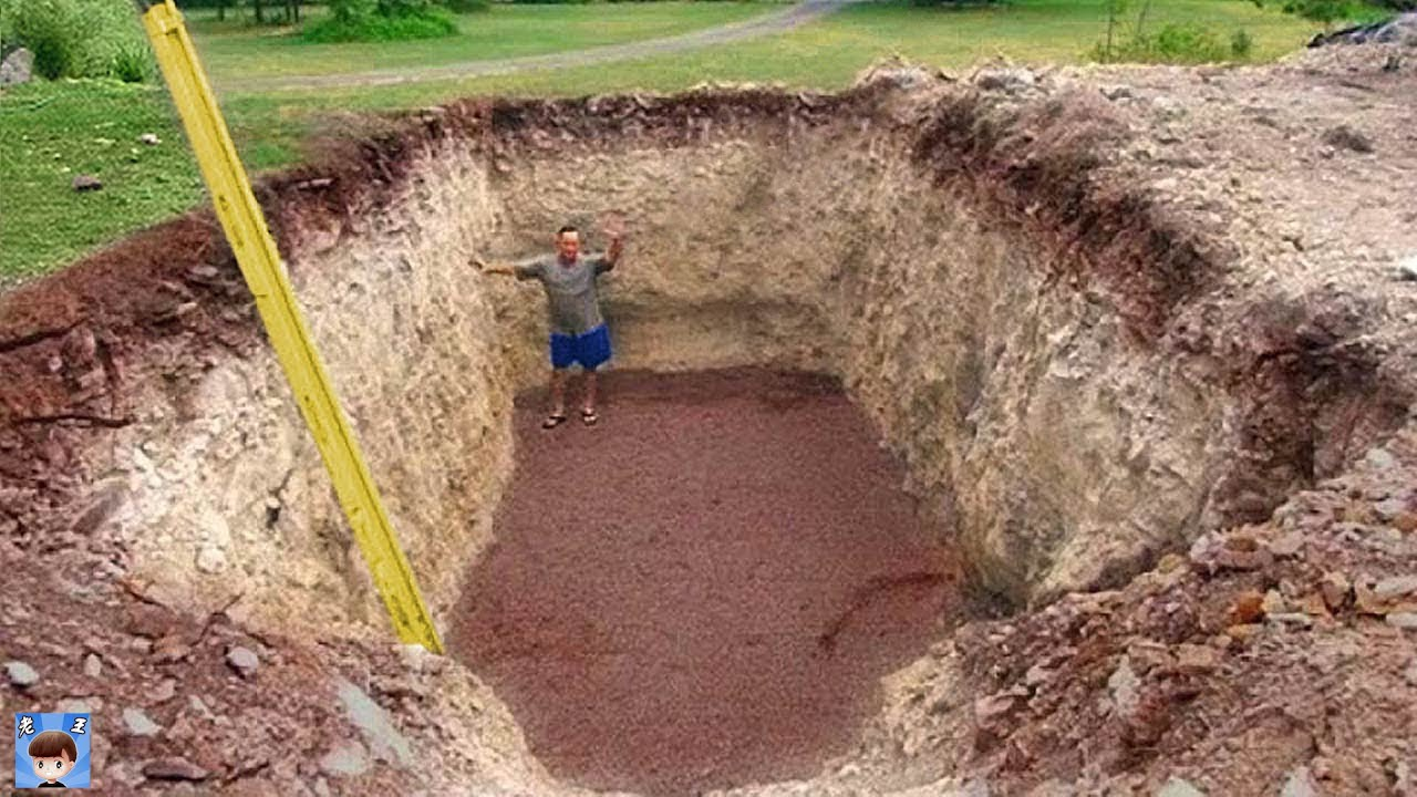 男子挖洞遭到鄰居嘲笑,結果卻出乎所有人意料!