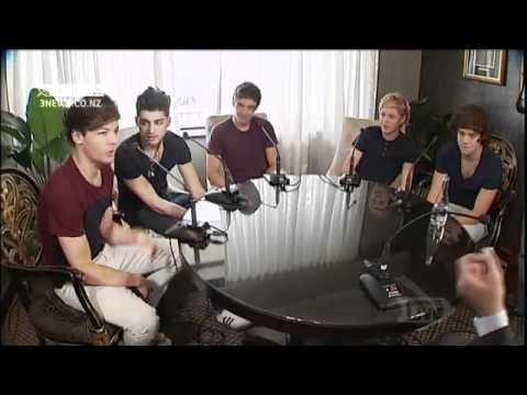 One Direction talks to Campbell Live NZ