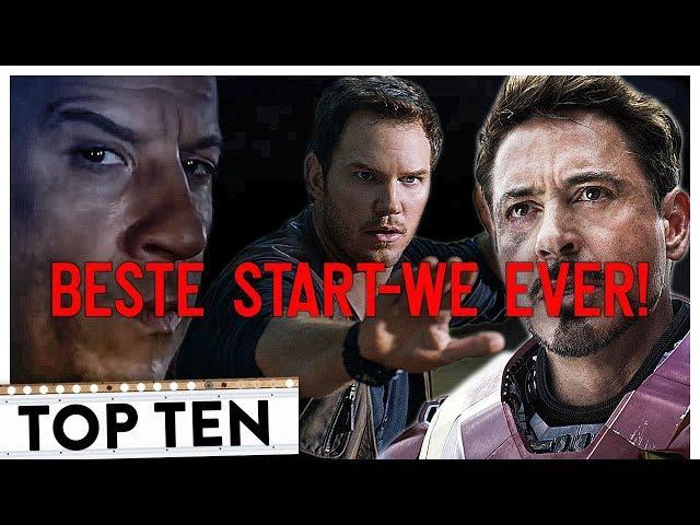 Die BESTEN WELTWEITEN Filmstarts ALLER Zeiten | Top 10