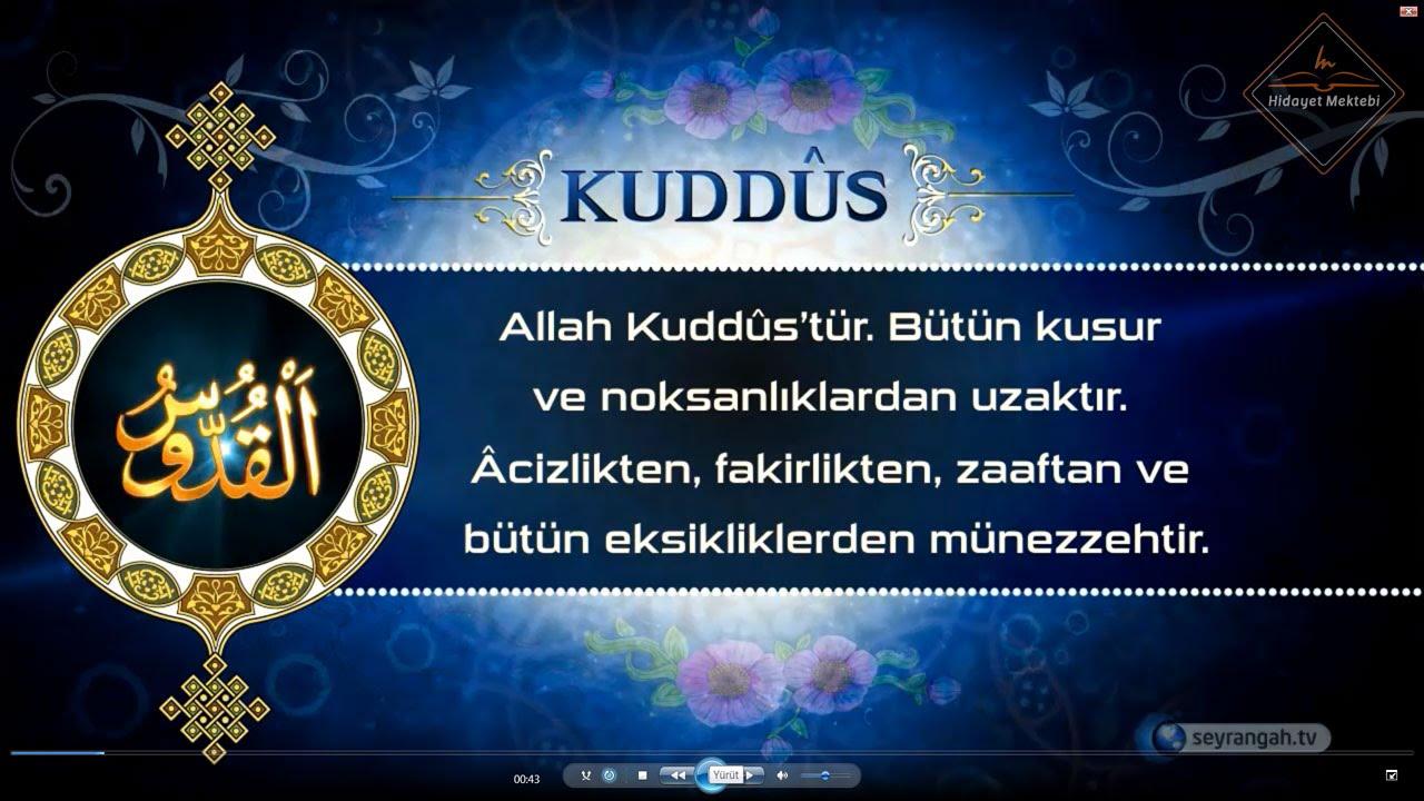 esma ul husna allah in isimleri el kuddus 05